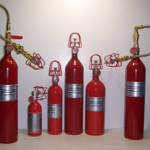 Automatic Liquefied Gas Extinguishers